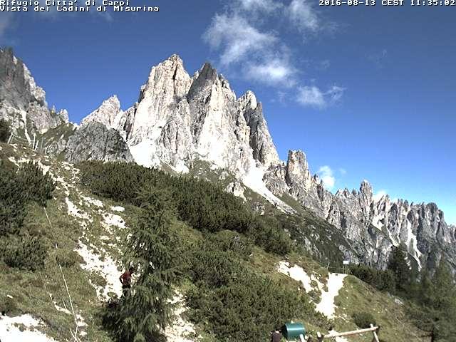 Foto Web-Cam Rifugio Città di Carpi